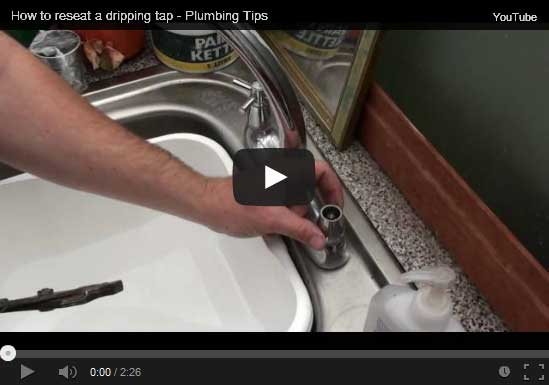 How to reseat a dripping tap
